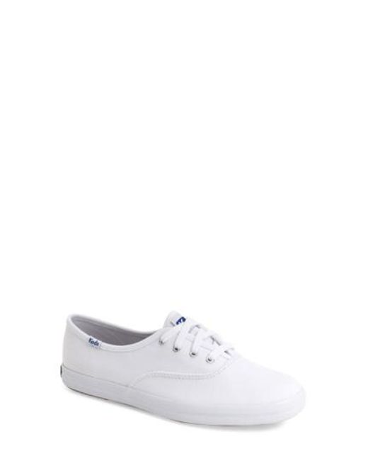 Keds | White Champion Cotton-Canvas Sneakers | Lyst