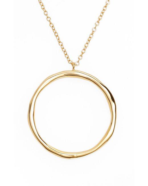 Gorjana - Metallic Quinn Hoop Necklace - Lyst