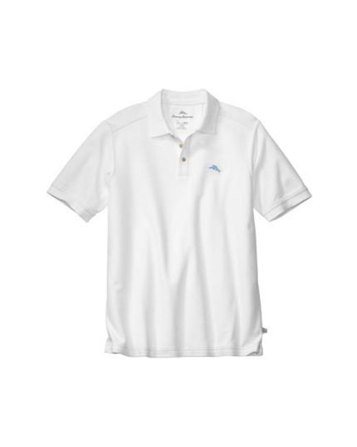 Tommy Bahama | White 'the Emfielder' Pique Polo for Men | Lyst