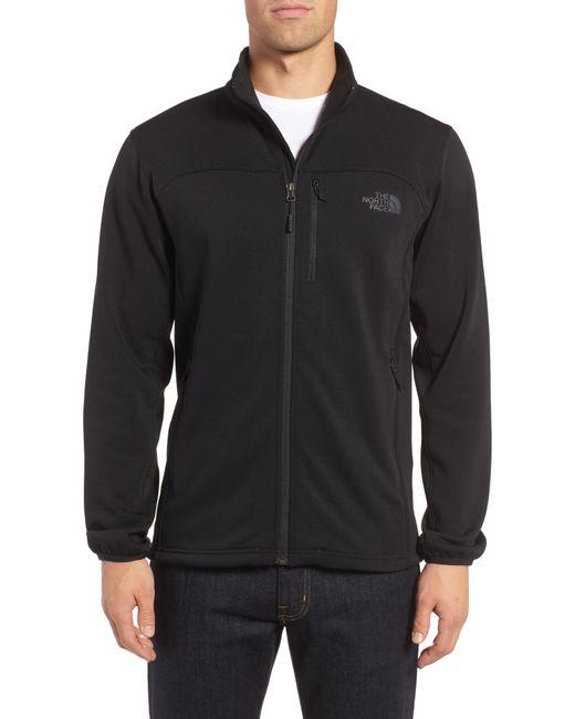 The North Face - Black 'momentum' Fleece Jacket for Men - Lyst