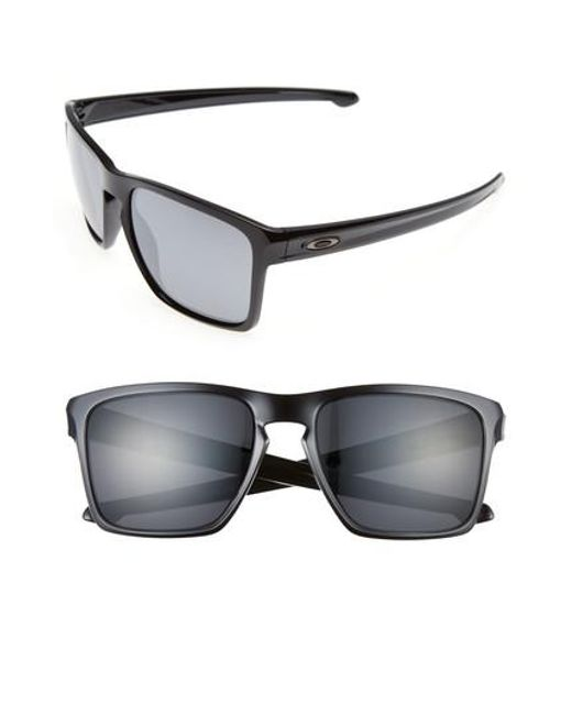 Oakley - Black Silver Xl 57mm Sunglasses - Lyst