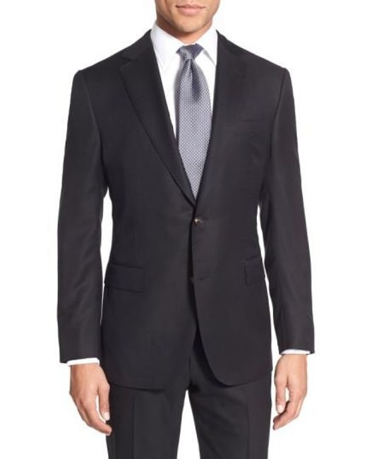 Pal Zileri | Black Classic Fit Wool Blazer for Men | Lyst