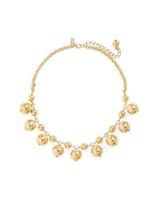 Kate Spade | Metallic Golden Girl Collar Necklace | Lyst
