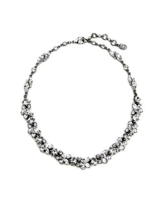 Ben-Amun | Metallic 'crystal Vine' Collar Necklace | Lyst