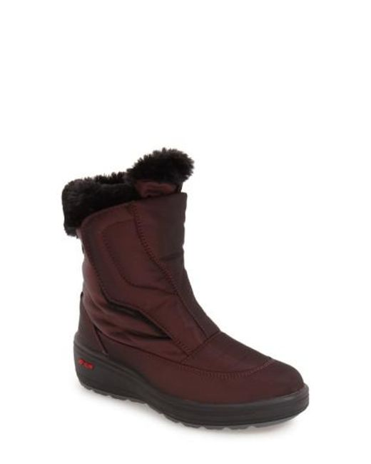 Pajar | Brown 'Kimmi' Snow Boot | Lyst