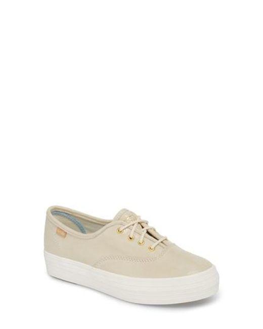 Keds - White Keds Triple Decker Platform Sneaker - Lyst
