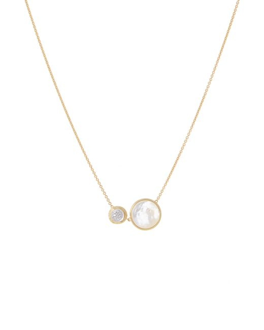 Marco Bicego - Metallic Jaipur Turquoise & Diamond Pendant Necklace - Lyst