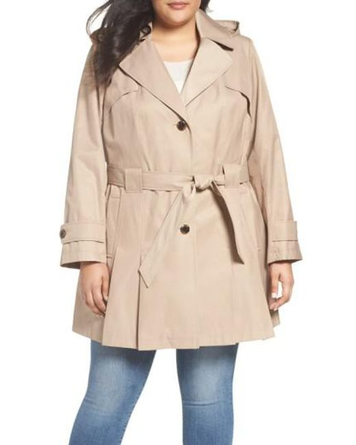 Via Spiga - Natural 'scarpa' Single Breasted Trench Coat - Lyst