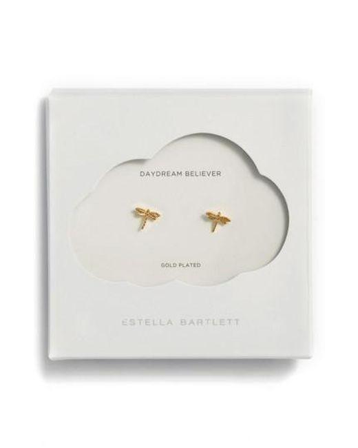 Estella Bartlett | Metallic Dragonfly Stud Earrings | Lyst