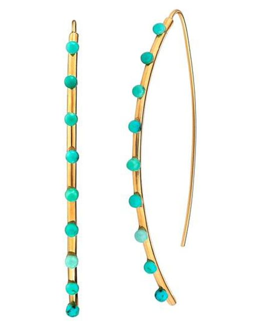 Asha | Blue Emilia Large Earrings | Lyst