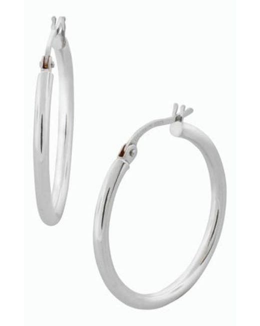 Bony Levy - Metallic 14k Gold Hoop Earrings (nordstrom Exclusive) - Lyst