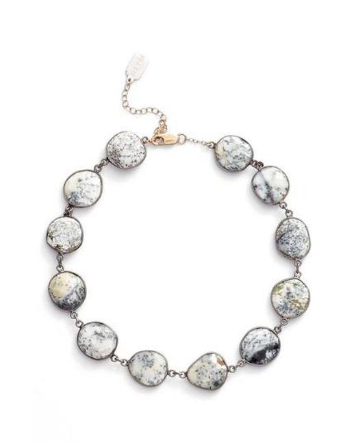 Ela Rae - Metallic Suze Semiprecious Stone Collar Necklace - Lyst