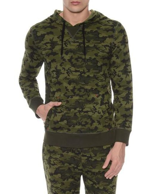 2xist - Green Hooded Pullover for Men - Lyst