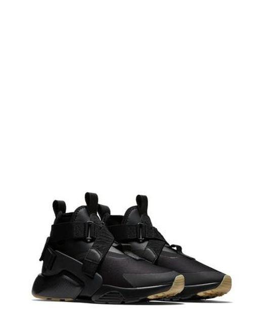 Nike - Black Air Huarache City Sneaker for Men - Lyst