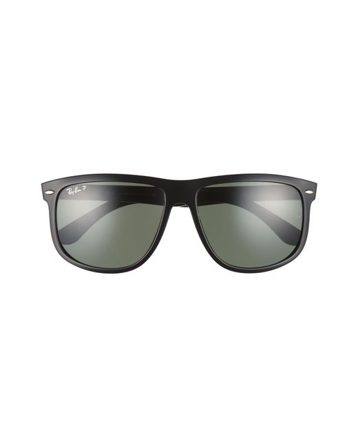 9d46e82a8a8b2 ... Ray-Ban - Black  boyfriend  60mm Polarized Sunglasses for Men - Lyst