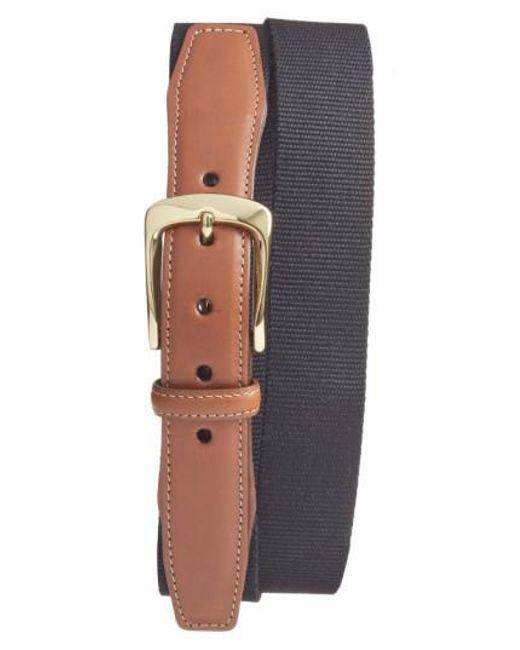 Torino Leather Company - Black European Surcingle Belt for Men - Lyst