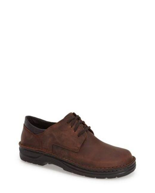 Naot | Brown 'denali' Plain Toe Oxford for Men | Lyst