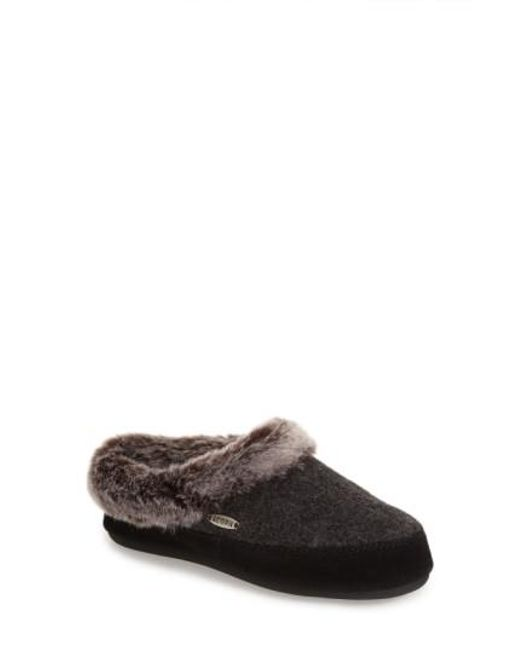 Acorn | Gray 'cloud Chilla Scuff' Slipper | Lyst