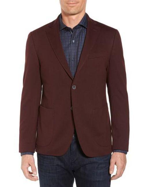 Bugatchi   Purple Regular Fit Blazer for Men   Lyst