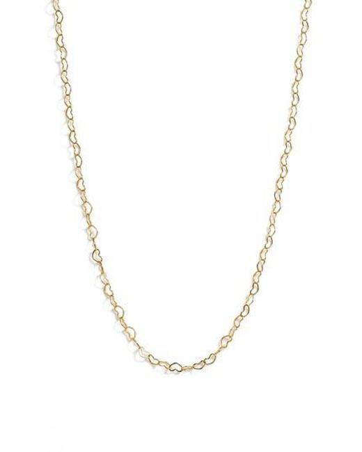 Five And Two - Metallic Kiara Heart Necklace - Lyst
