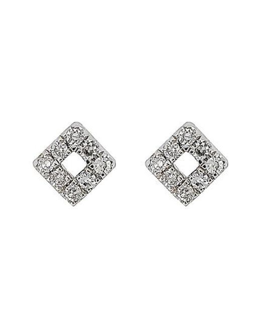 CARRIERE JEWELRY | Metallic Carriere Diamond Shape Stud Earrings (nordstrom Exclusive) | Lyst