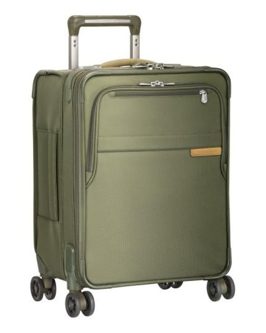 Briggs & Riley | Green 'baseline - Commuter' Expandable Rolling Carry-on for Men | Lyst