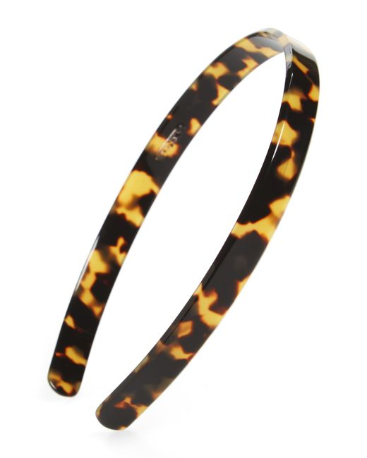France Luxe - Brown Skinny Headband - Lyst