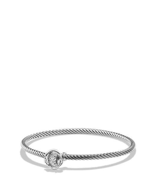David Yurman - Multicolor 'infinity' Bracelet With Diamonds - Lyst
