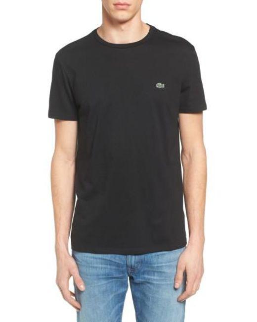 Lacoste | White Pima Cotton T-shirt for Men | Lyst