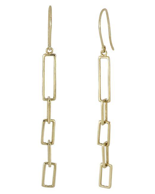 Bony Levy - Metallic Linear Link Drop Earrings (nordstrom Exclusive) - Lyst