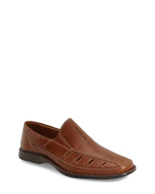 Josef Seibel | Brown 'steven' Slip On for Men | Lyst