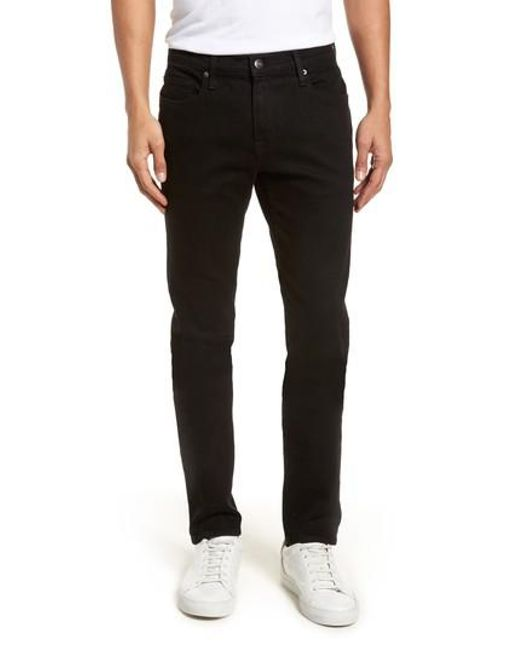 slim-fit jeans - Black Les Hommes Outlet Hot Sale Wide Range Of Cheap Online RmpQ0