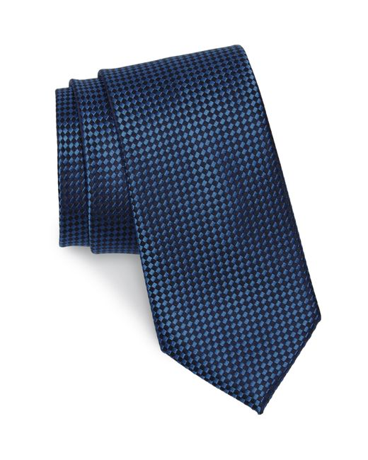 Nordstrom Blue Norman Neat Silk Tie for men