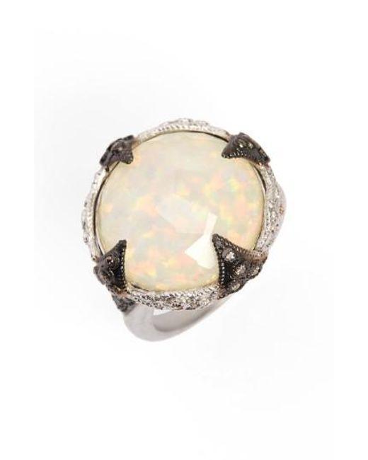 Armenta | Metallic New World Opal & Diamond Ring | Lyst