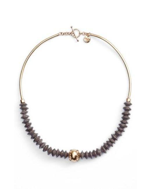 31 Bits - Metallic Wandering Star Paper Bead Necklace - Lyst