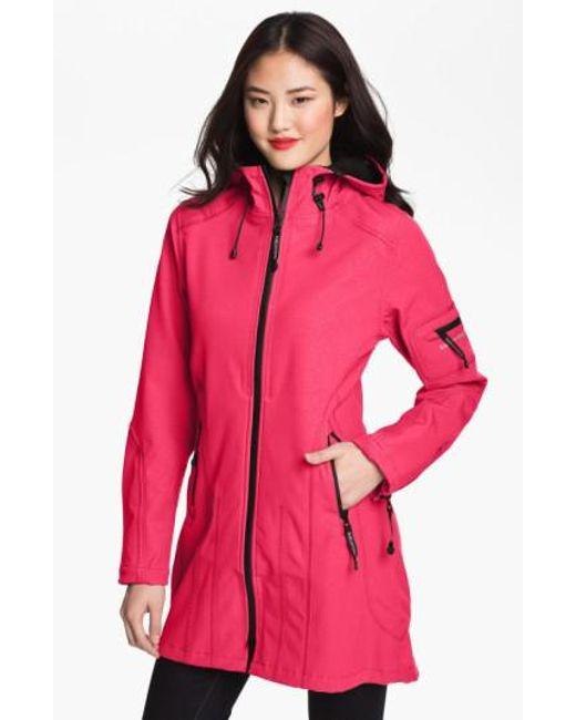 Ilse Jacobsen - Pink Rain 7 Hooded Water Resistant Coat - Lyst