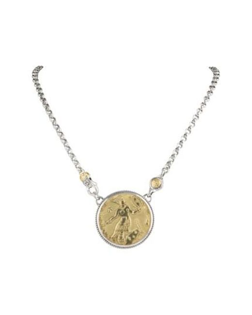 Konstantino - Metallic Gaia Sirene Necklace - Lyst