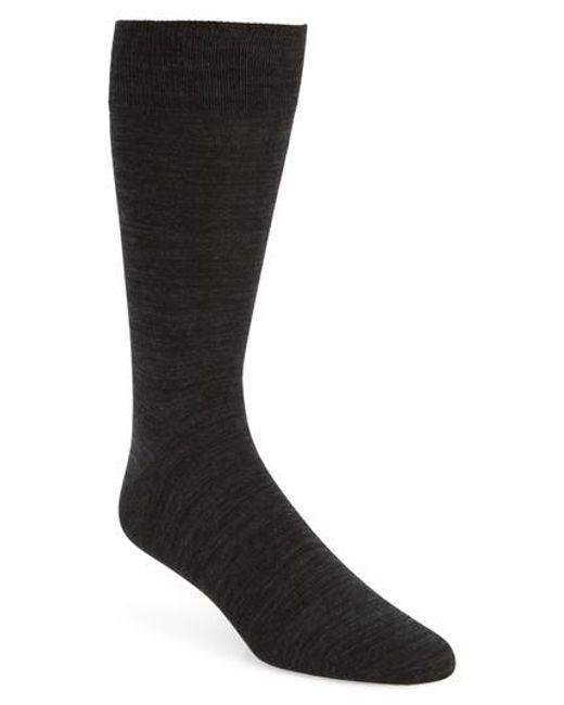 Bugatchi | Gray Solid Socks for Men | Lyst