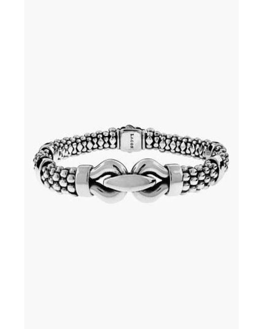 Lagos - Metallic 'derby' Caviar Rope Bracelet - Lyst
