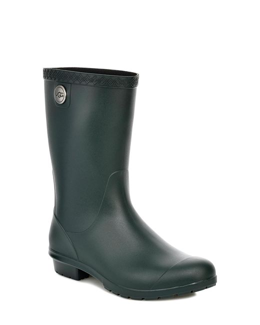 00337a9388a Women's Green Ugg Sienna Rain Boot