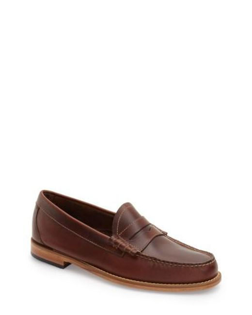 G.H. Bass & Co. | Brown 'larson - Weejuns' Penny Loafer for Men | Lyst