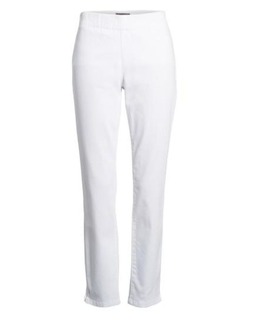 NYDJ - White 'millie' Pull-on Stretch Ankle Skinny Jeans - Lyst