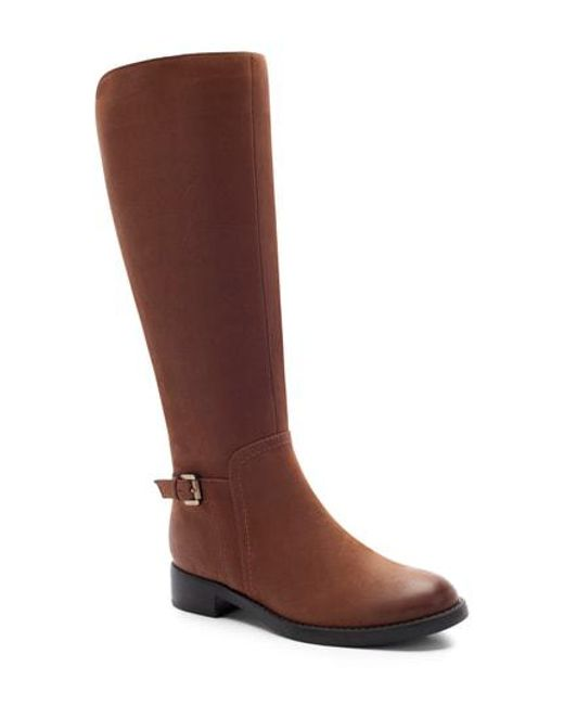 Blondo - Brown Evie Waterproof Knee High Boot - Lyst