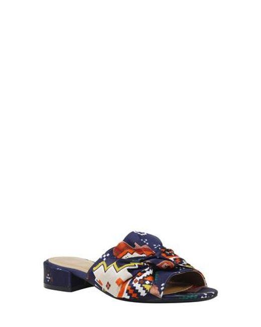 J. Reneé | Blue Sattuck Slide Sandal | Lyst