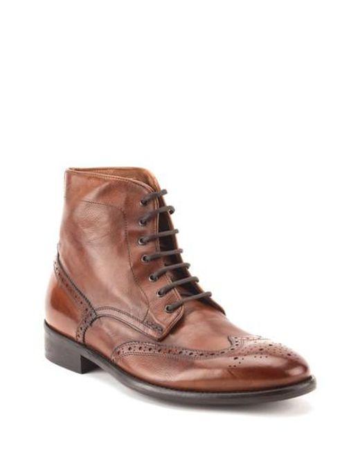 Gordon Rush - Brown Maxfield Wingtip Boot for Men - Lyst