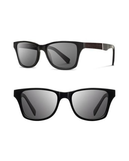 Shwood   Black 'canby' 53mm Polarized Wood Sunglasses for Men   Lyst