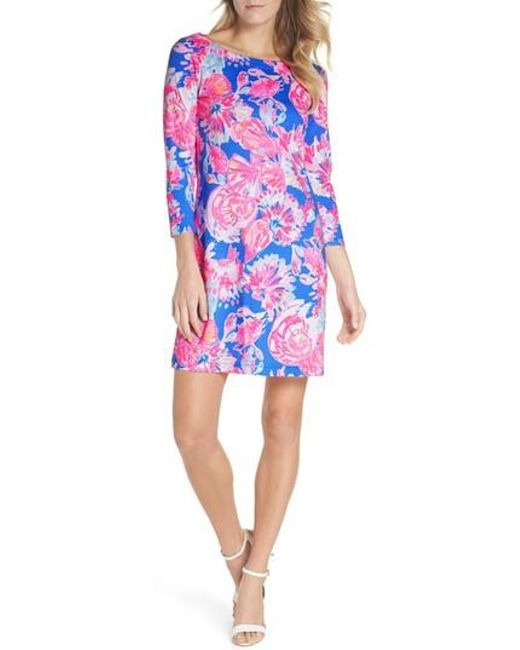 Lilly Pulitzer - Blue Lilly Pulitzer Noelle Floral Shift Dress - Lyst