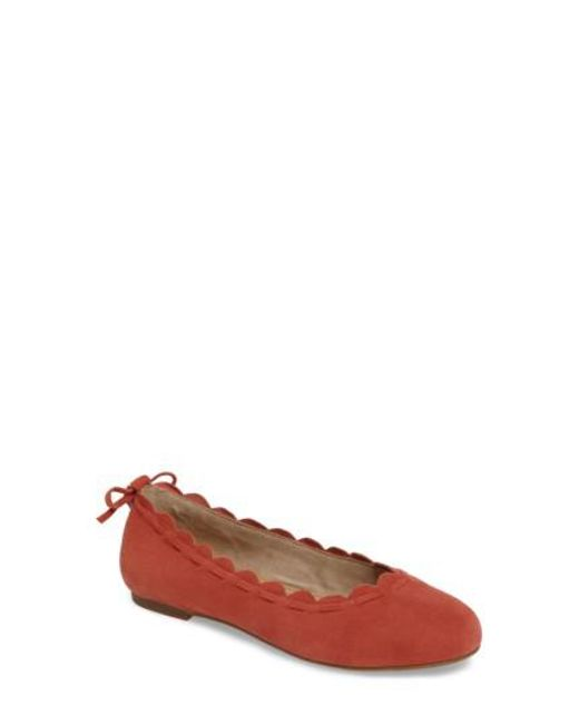 Jack Rogers | Multicolor Lucie Scalloped Flat | Lyst