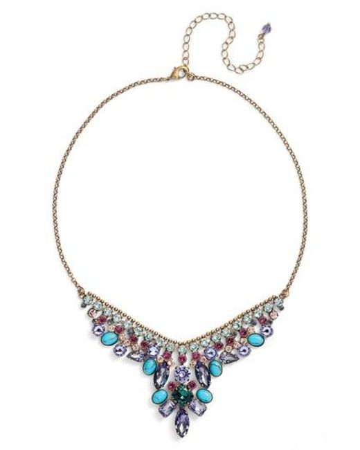 Sorrelli | Metallic Vervain Frontal Necklace | Lyst