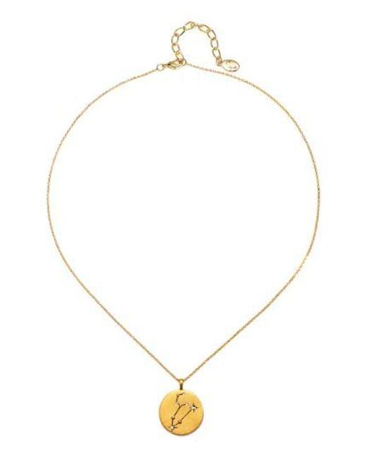 Sequin - Metallic Celestial Pendant Necklace - Lyst